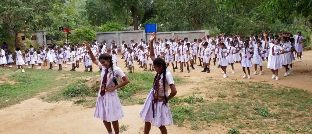 School Children Group Activity